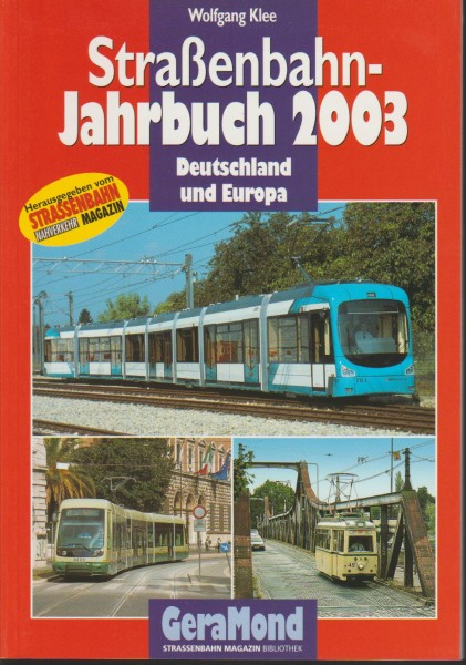 Straßenbahn-Jahrbuch 2003
