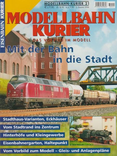 Modellbahn Kurier 21 - Mit der Bahn in die Stadt