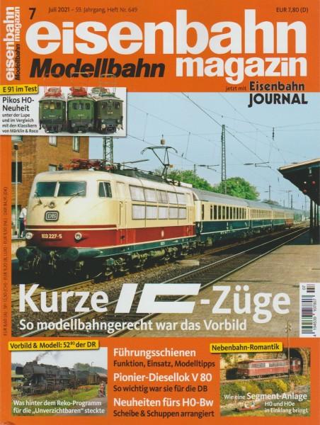 Eisenbahn-Magazin Juli 2021