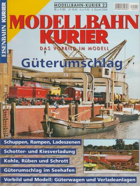 Modellbahn Kurier 22 - Güterumschlag