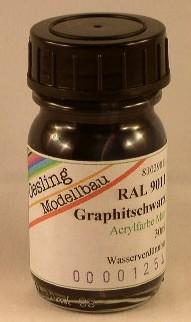 RAL 9011 Graphitschwarz, matt