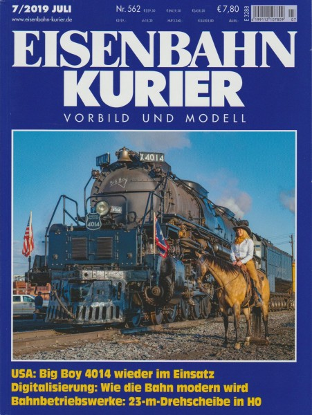 Eisenbahn Kurier 2019/07