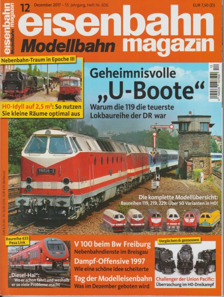 Eisenbahn-Magazin Dezember 2017
