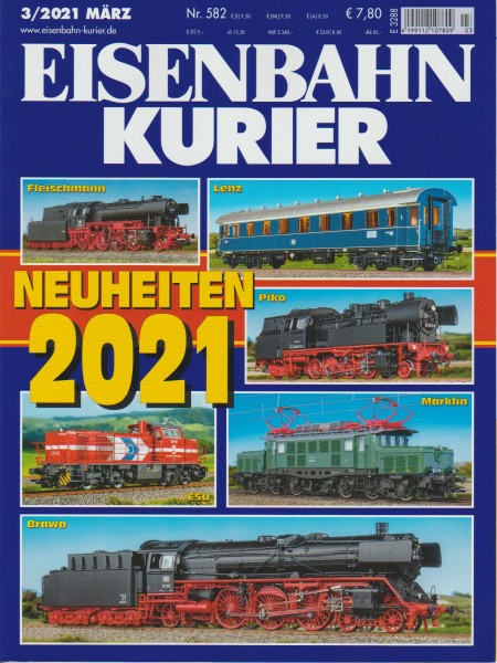 Eisenbahn Kurier 2021/03