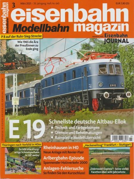 Eisenbahn-Magazin März 2021