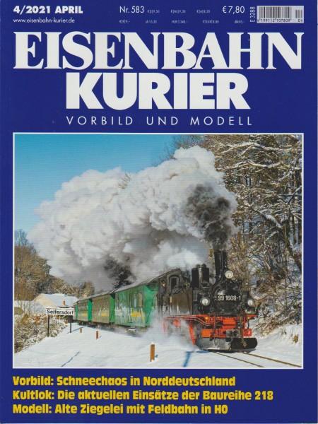 Eisenbahn Kurier 2021/04