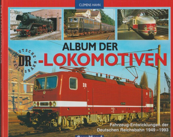 Album der DR-Lokomotiven