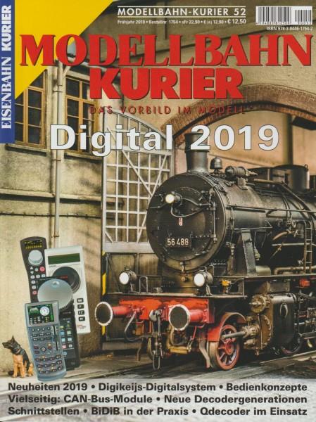 Modellbahn Kurier 52 - Digital 2019