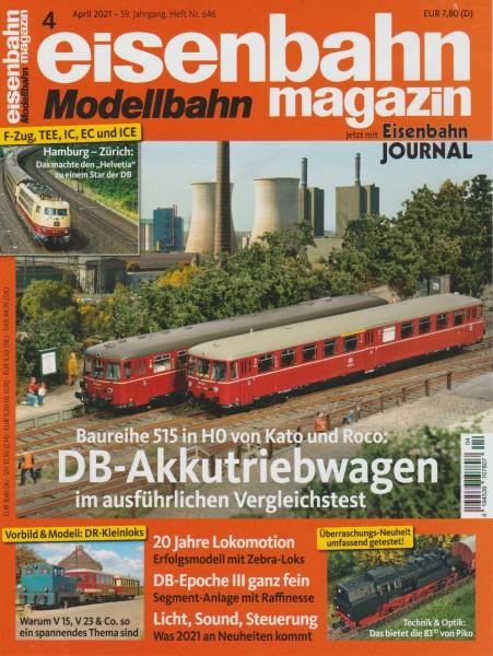 Eisenbahn-Magazin April 2021