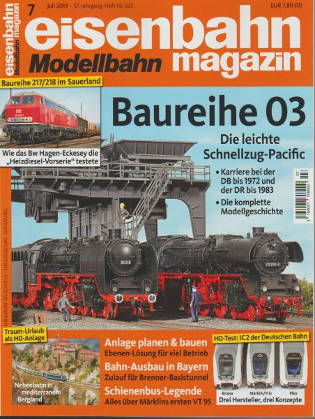 Eisenbahn-Magazin Juli 2019