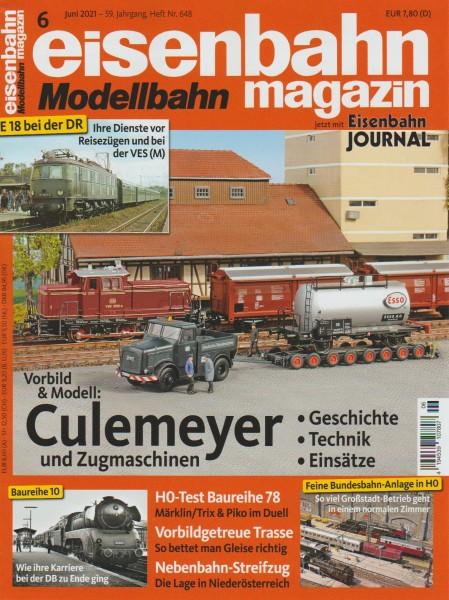 Eisenbahn-Magazin Juni 2021