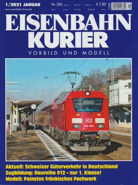 Eisenbahn Kurier 2021/01