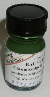 RAL 6020 Chromoxidgrün, seidenmatt