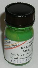RAL 6017 Maigrün, seidenmatt