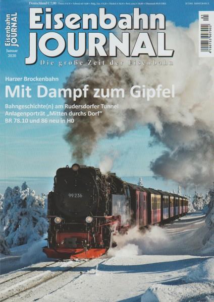 Eisenbahn Journal 2020 Januar