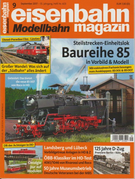 Eisenbahn-Magazin September 2017