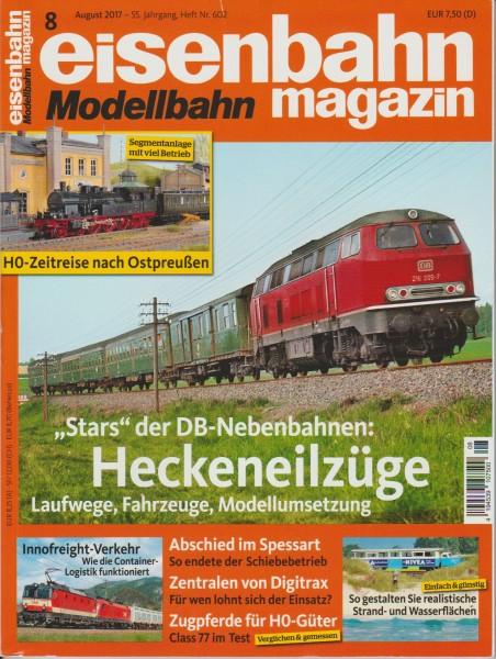 Eisenbahn-Magazin August 2017