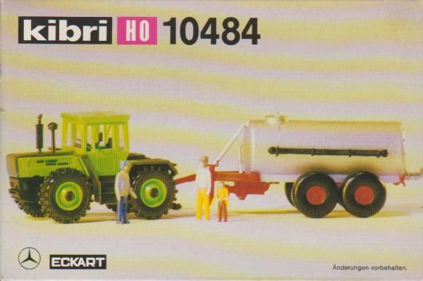1:87 MB-Trac mit Tankanhänger