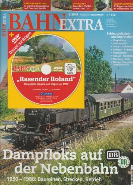 BahnExtra 2019/06 - Dampfloks auf Nebenbahnen