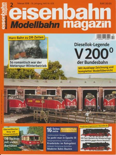 Eisenbahn-Magazin Februar 2018