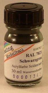 RAL 7021 Schwarzgrau, seidenmatt