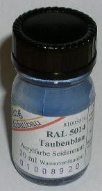 RAL 5014 Taubenblau, seidenmatt