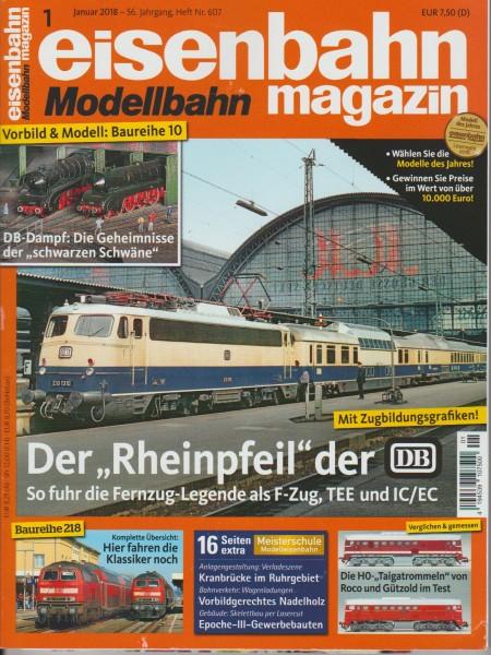Eisenbahn-Magazin Januar 2018