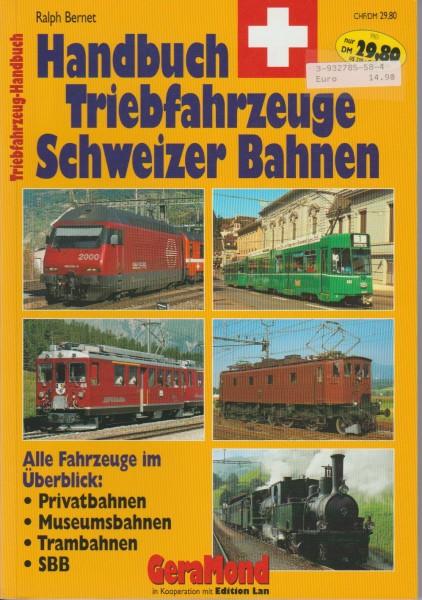 Handbuch Triebfahrzeuge Schweizer Bahnen