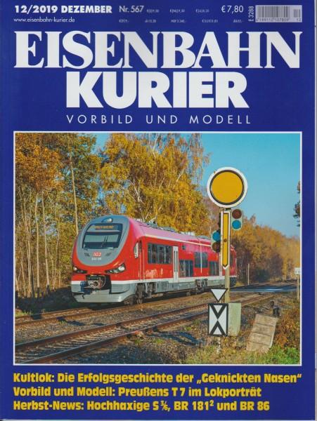 Eisenbahn Kurier 2019/12