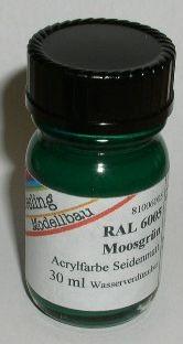 RAL 6005 Moosgrün, seidenmatt