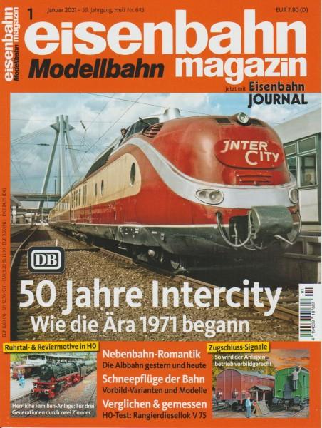 Eisenbahn-Magazin Januar 2021