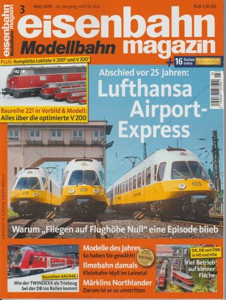 Eisenbahn-Magazin März 2018
