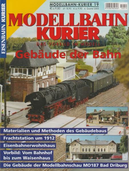 Modellbahn Kurier 19 - Gebäude der Bahn