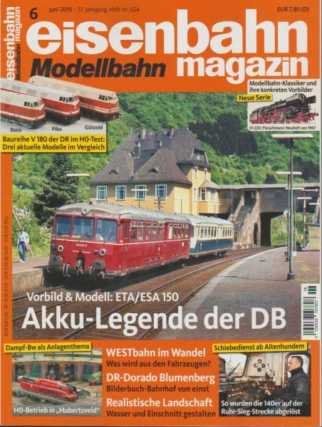 Eisenbahn-Magazin Juni 2019