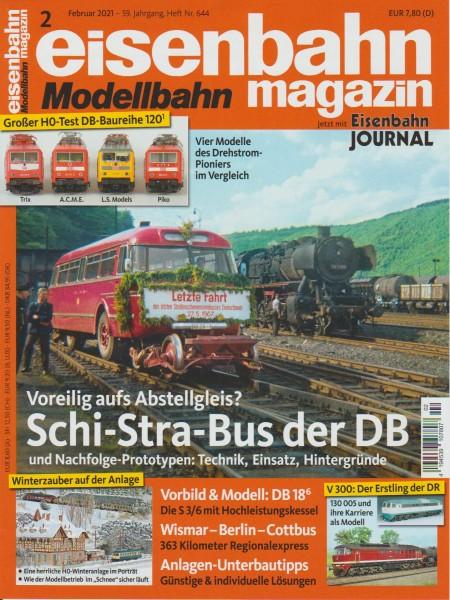 Eisenbahn-Magazin Februar 2021