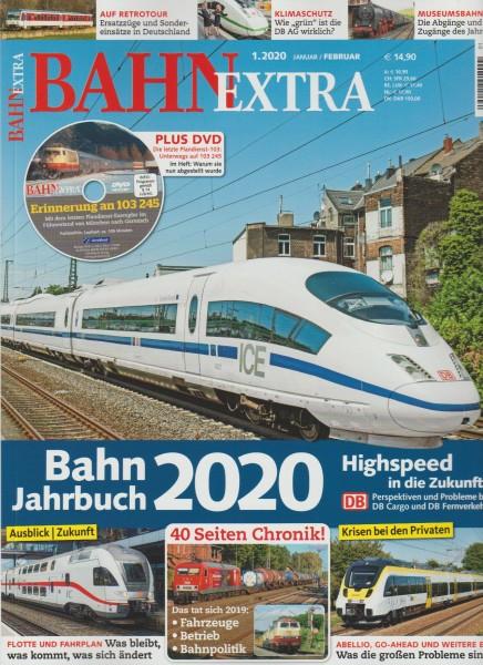 BahnExtra 2020/01 - Bahn Jahrbuch 2020