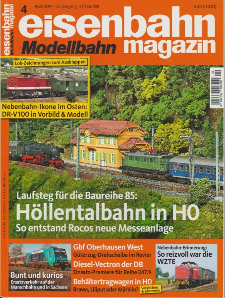 Eisenbahn-Magazin April 2017