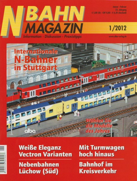 N-Bahn Magazin 2012 / 01