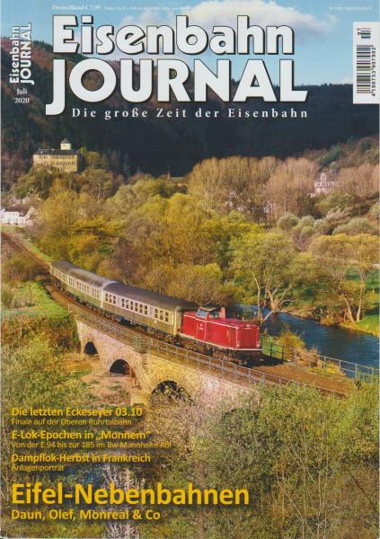 Eisenbahn Journal 2020 Juli