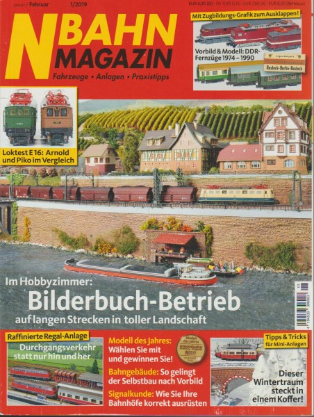N-Bahn Magazin 2019 / 01