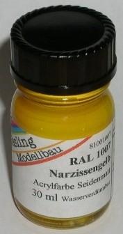 RAL 1007 Narzissengelb, seidenmatt